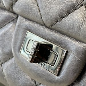 CHANEL 2.55 argent