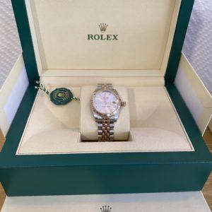Rolex Datejust Over Rose