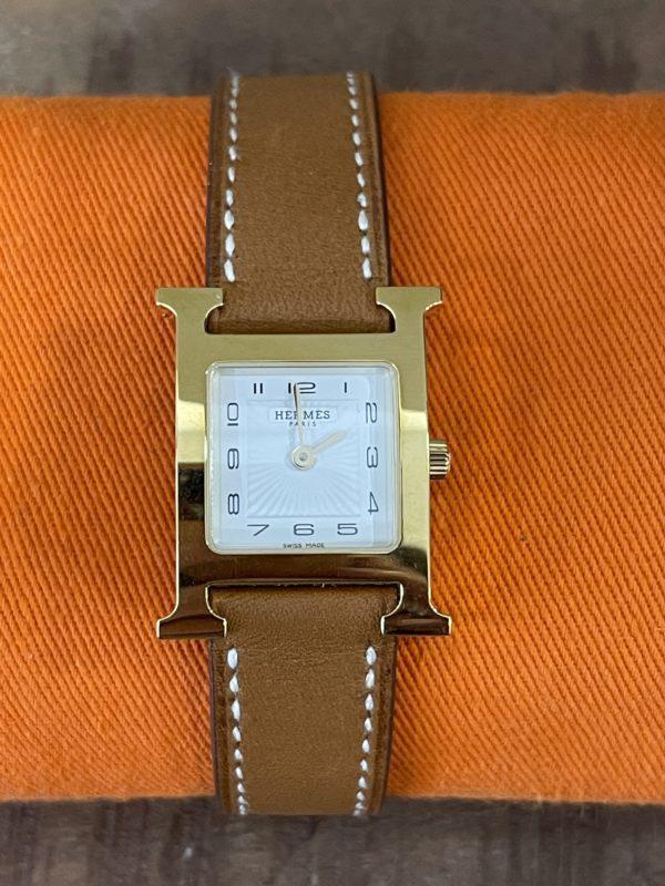 Montre heure H Hermès