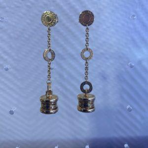 Boucles d'oreilles Bulgari B zéro 1 or jaune