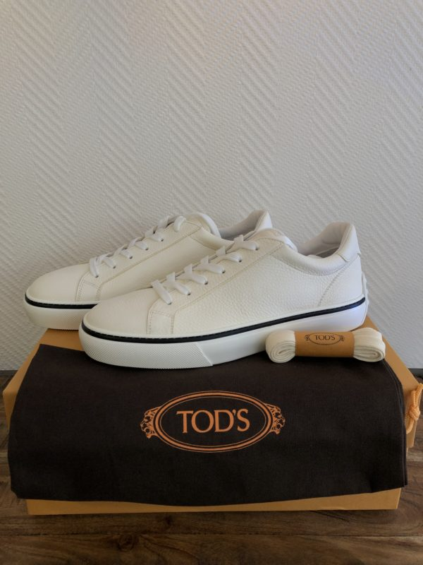 Baskets TODS basses casual blanche