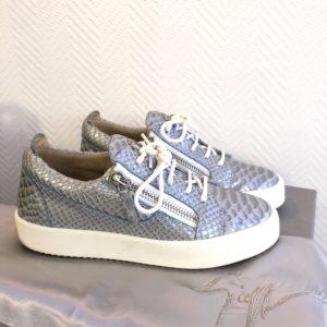 Sneakers Gail bleu croco Zanotti