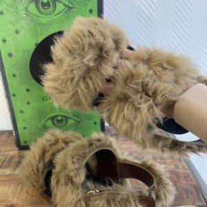 Sandales kangourou Gucci