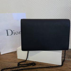 Dior WOC Saddle noir